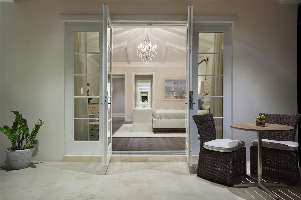 Master Bedroom from Balcony