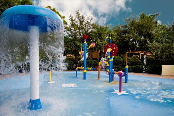 Community Clubhouse Water Park