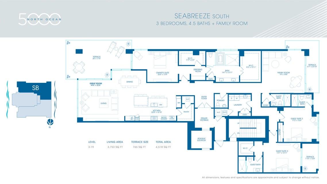 3 -Seabreeze South Sales Center