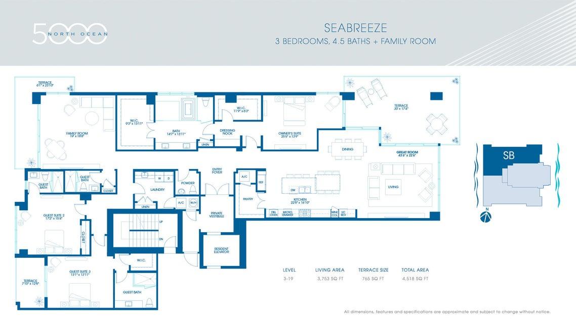 2-Seabreeze Floorplan