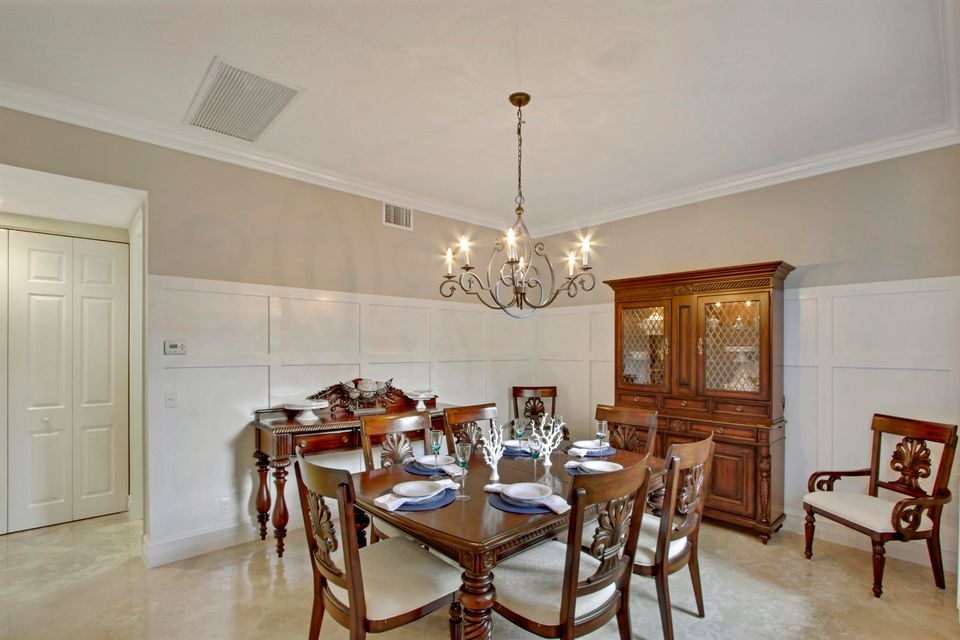 Formal Dining Room w/ custom woodwork