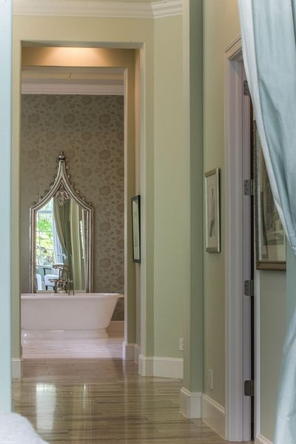 Hall to her Master Bath
