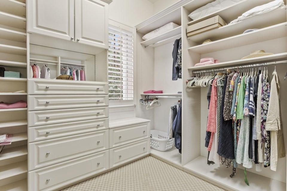 ladies master closet