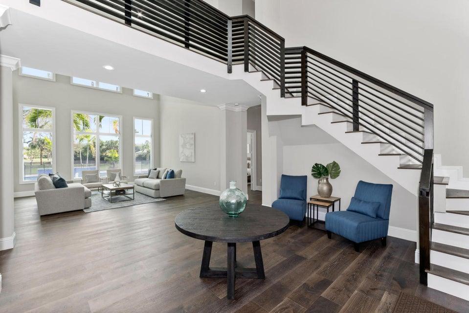 Entry - Living Room