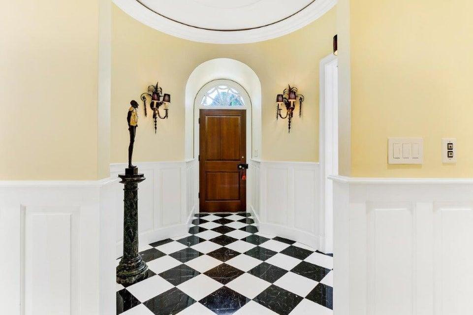 Formal entry foyer