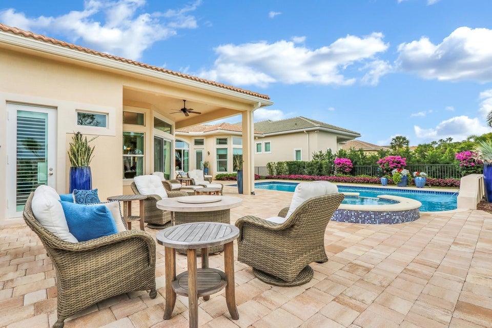 Generous outdoor living space