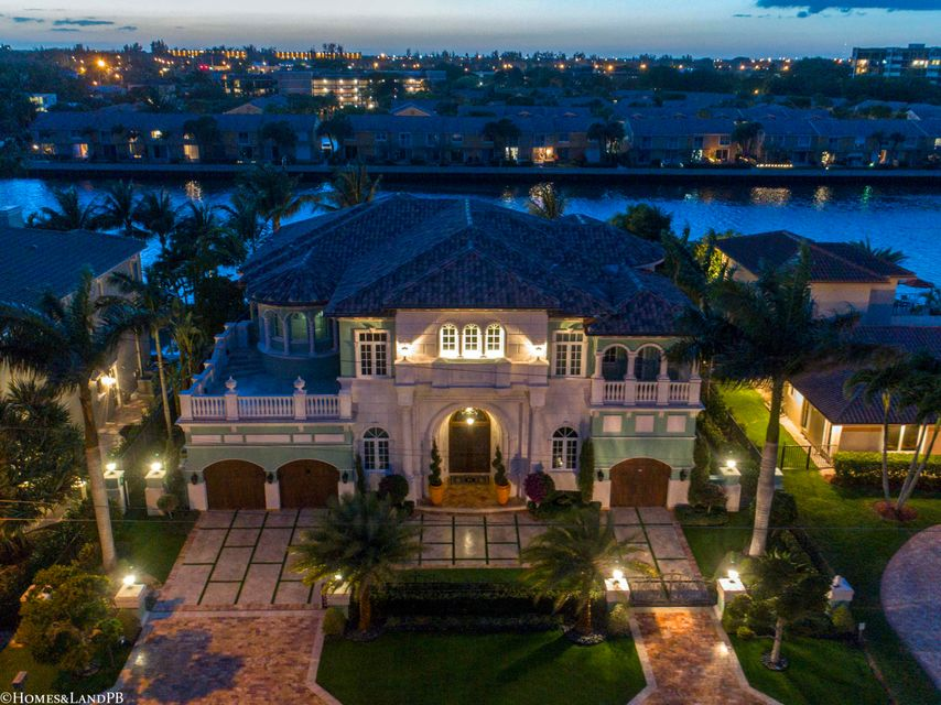 4216 Intracoastal Dr Night Aerial #14