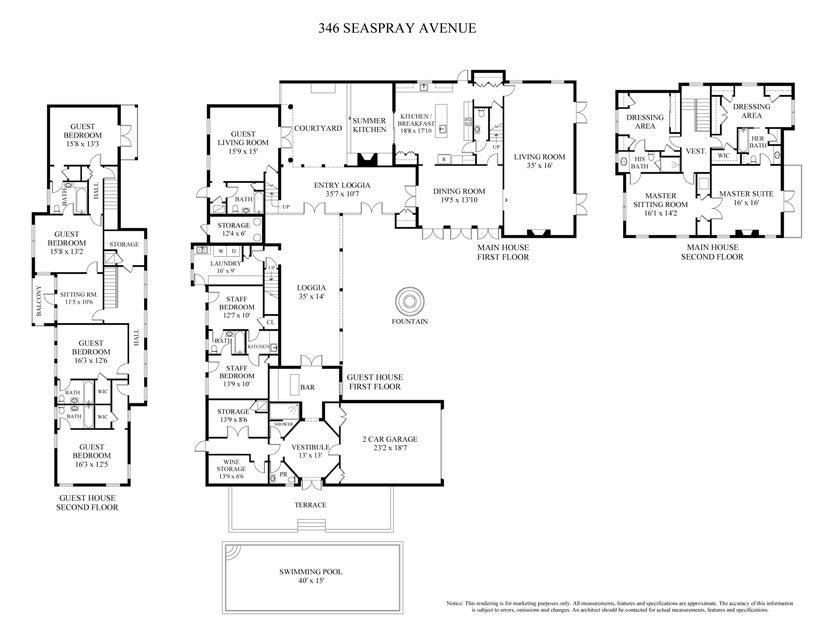 346 Seaspray floorplan