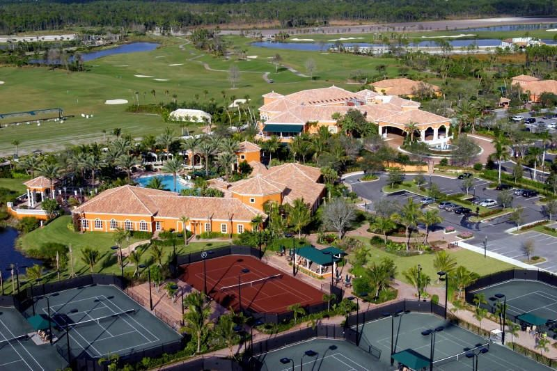 Country Club Aerial