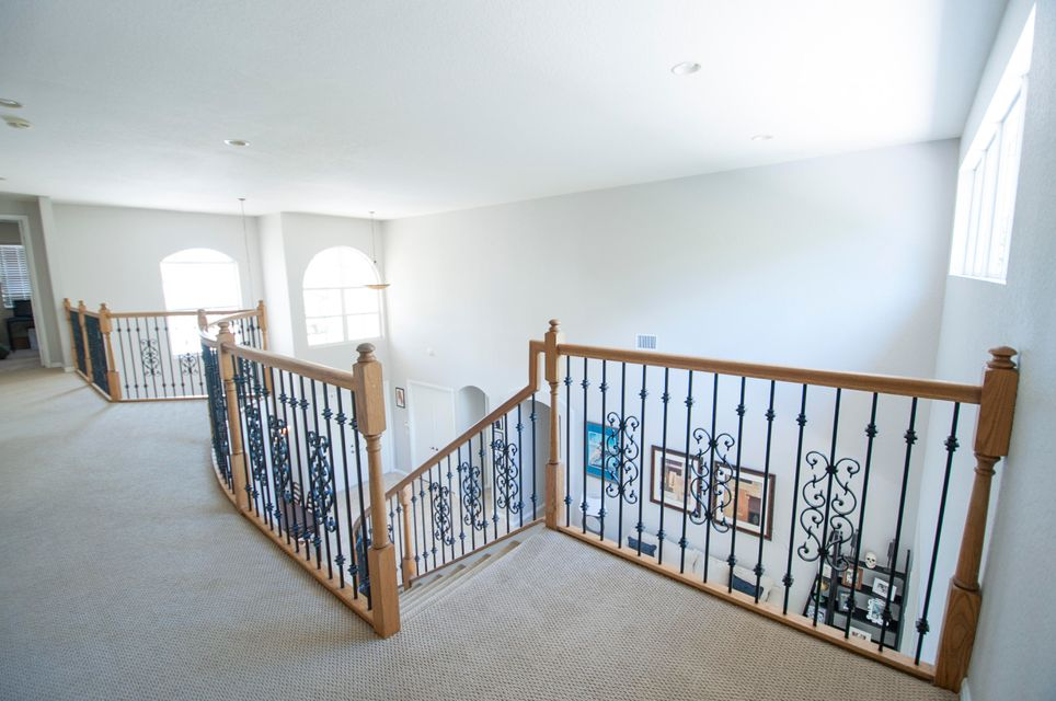 Upstairs Railing