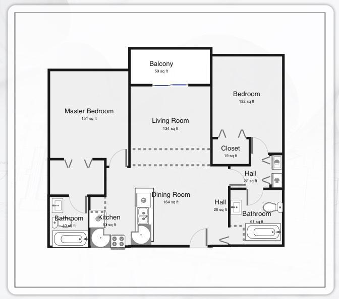 7912 Sonoma Springs Circle, Lake Worth, Florida 33463, 2 Bedrooms Bedrooms, ,2 BathroomsBathrooms,Condo/Coop,For Rent,Sonoma Springs,203,RX-10433089