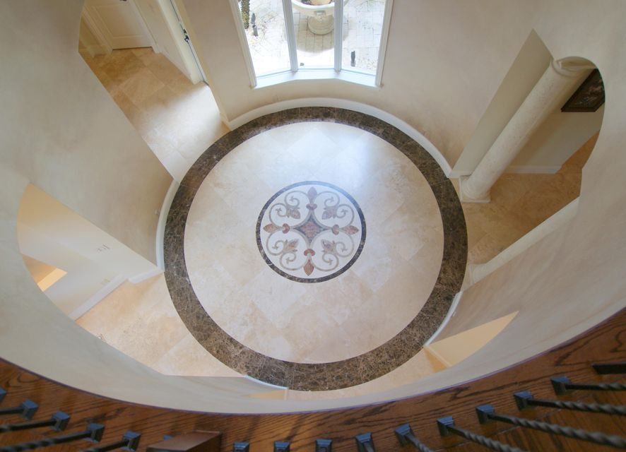 Rotunda Inlay Floor