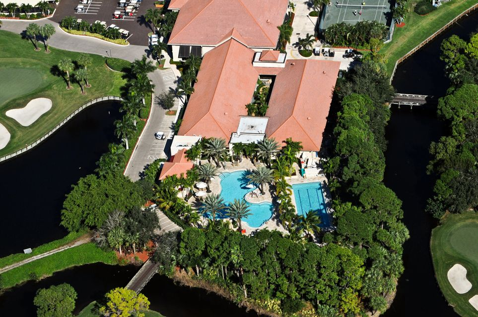 Clubhouse Pool Aerial