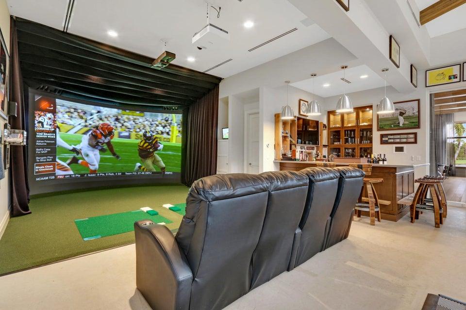 Theater/Golf Simulator