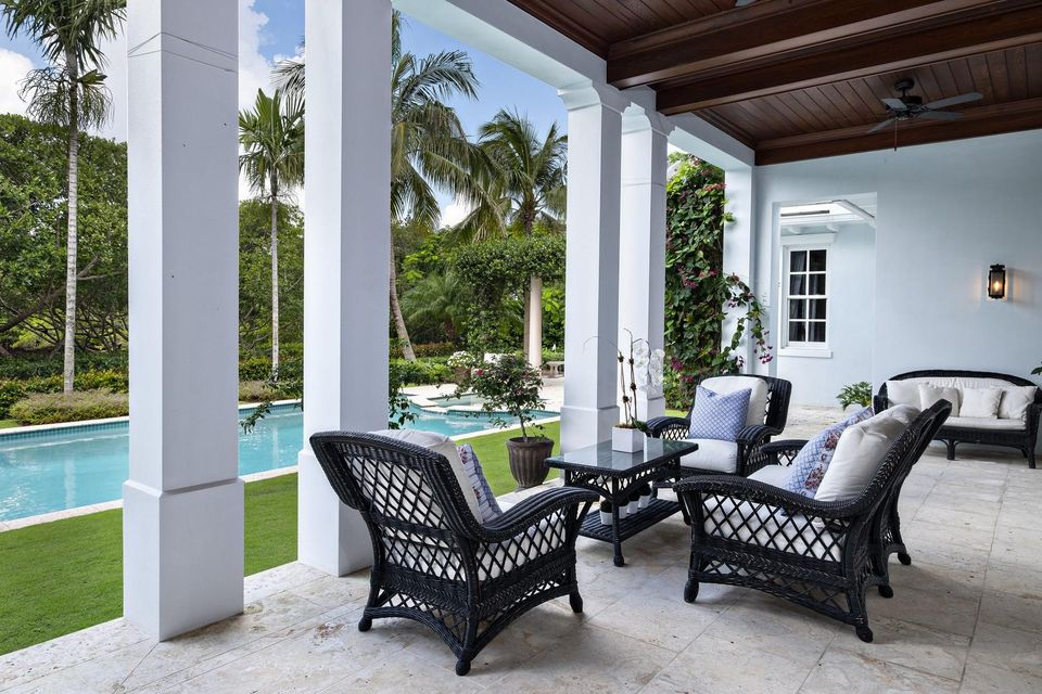 Patio Sitting Area