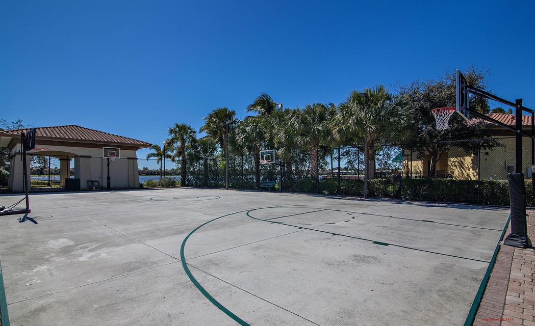 Community Clubhouse Basketball Court