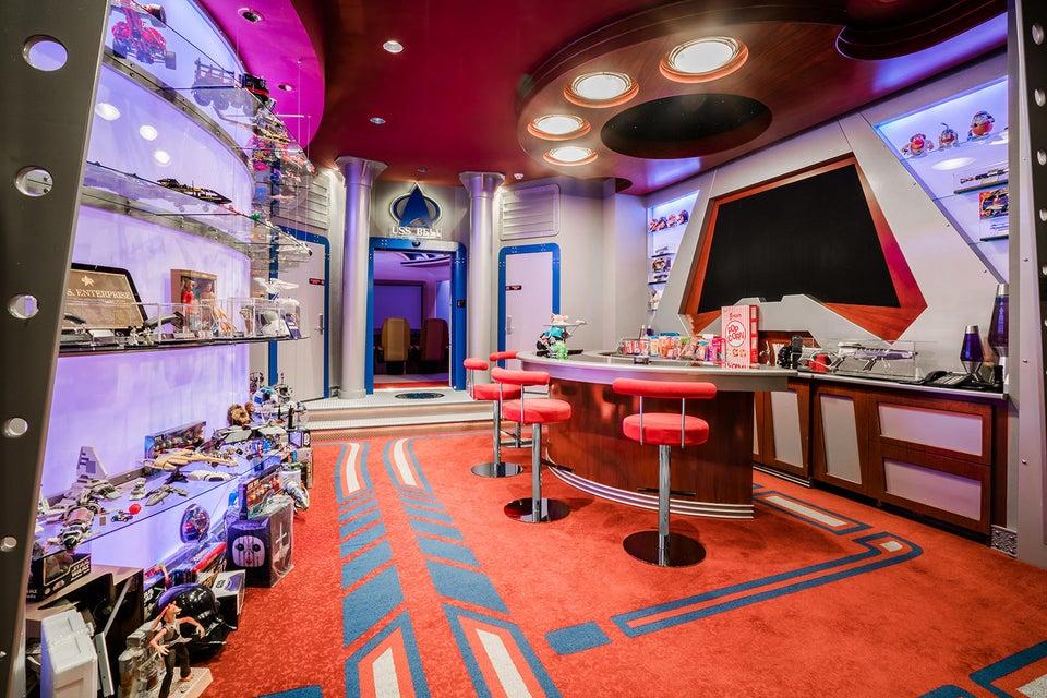 Themed Movie Theater Bar