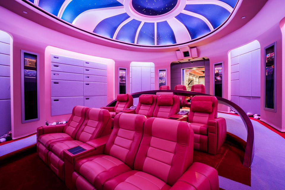 Themed 11 Person Movie Theater