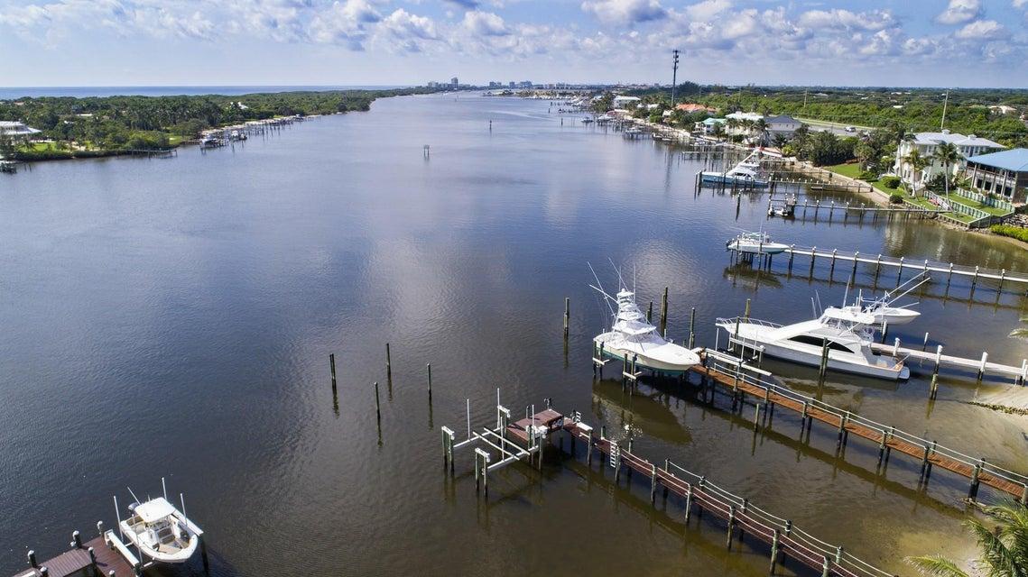 Aerial Waterway View