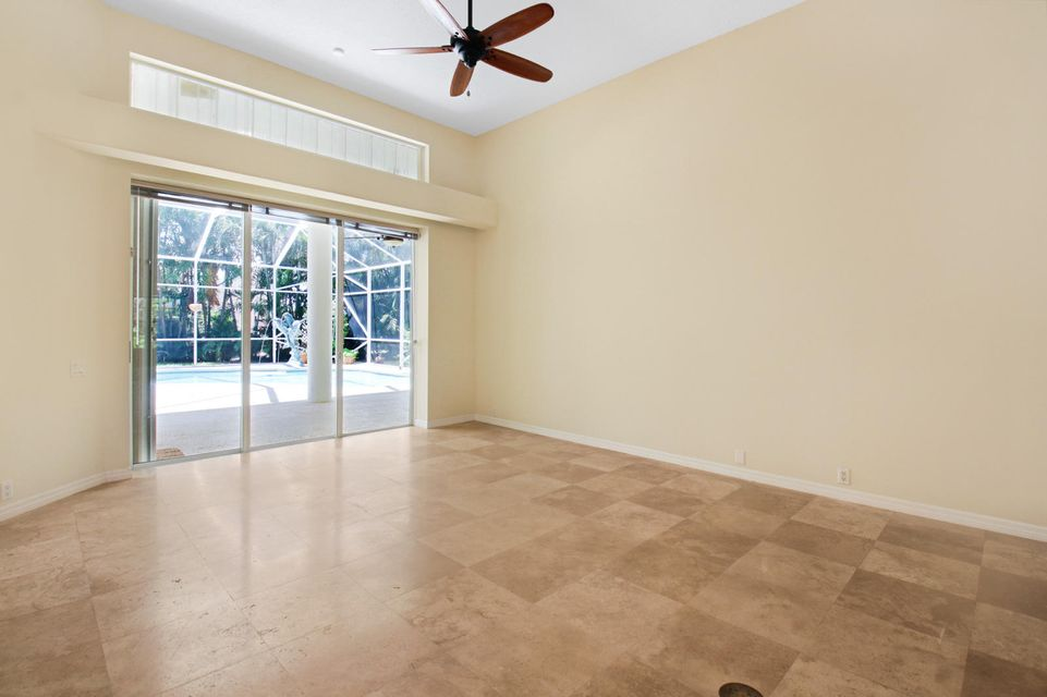 Formal Living Room with volume ceilings