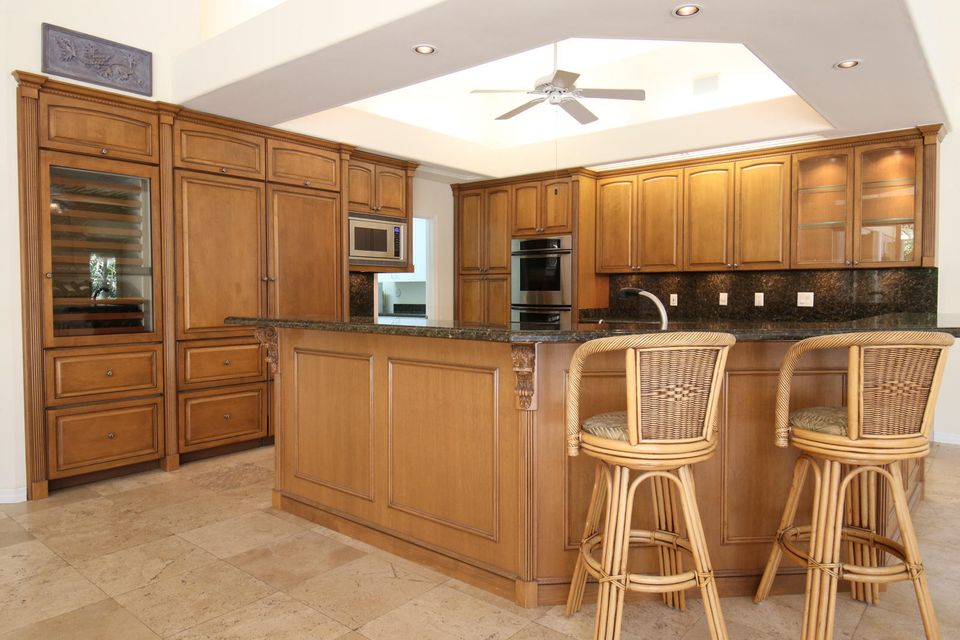 Custom Maplewood Cabinetry