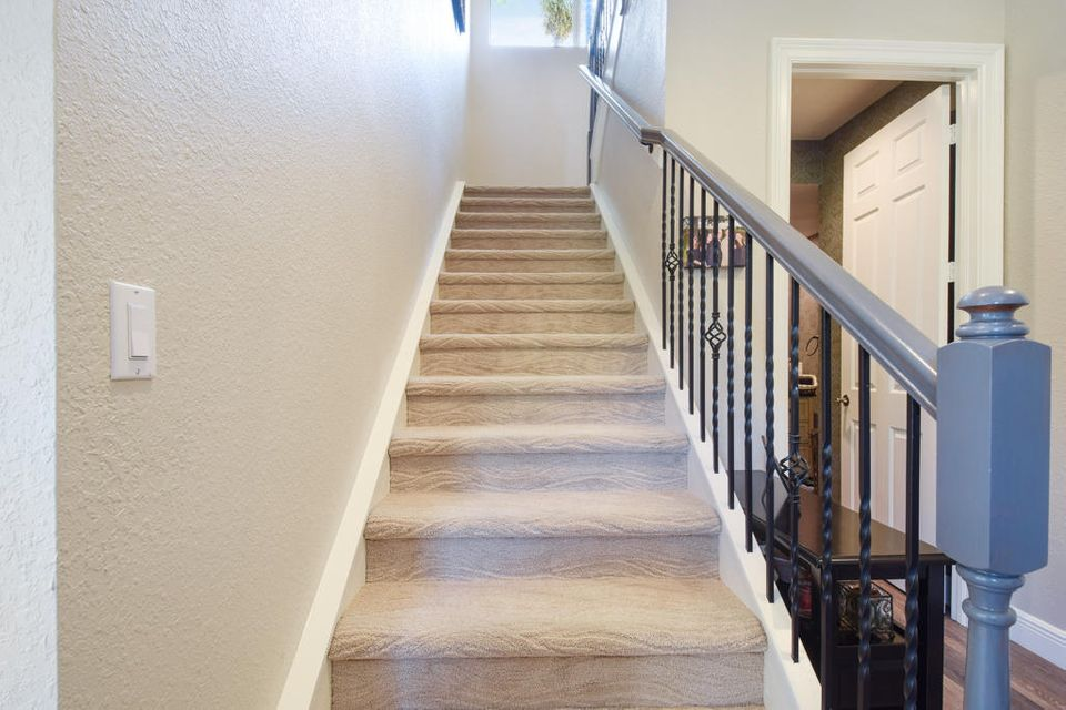 Staircase to Loft/Bedroom Area