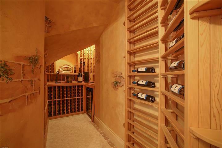 16021 quiet vista circle wine room