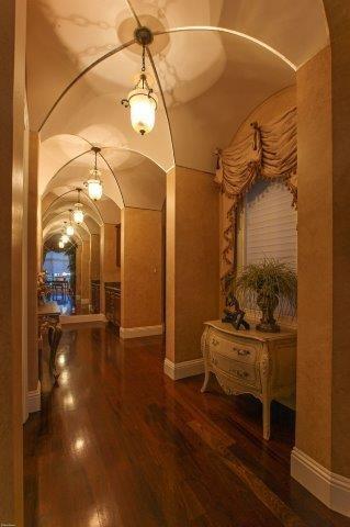 16021 quiet vista circle hall ceiling an
