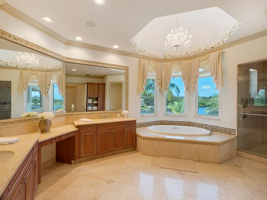 Master Bath overlooks water