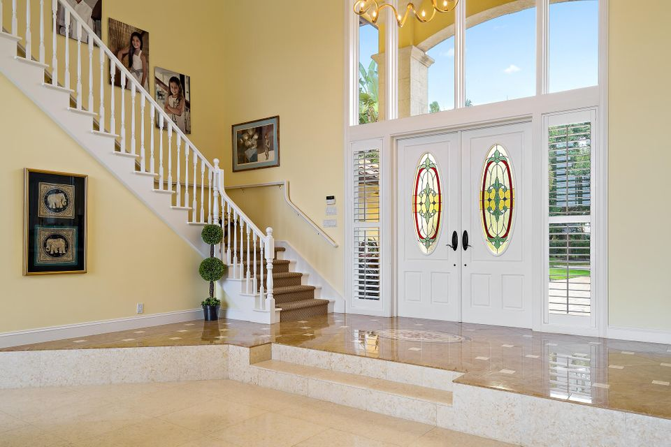 Front Door and Stairs