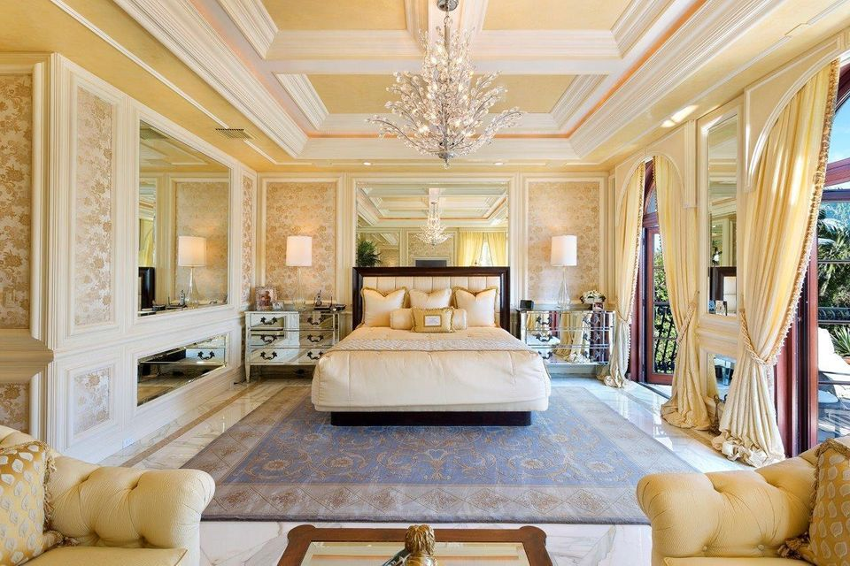 Oversized master suite