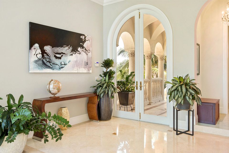 Foyer Entry Opens to Direct Ocean Views