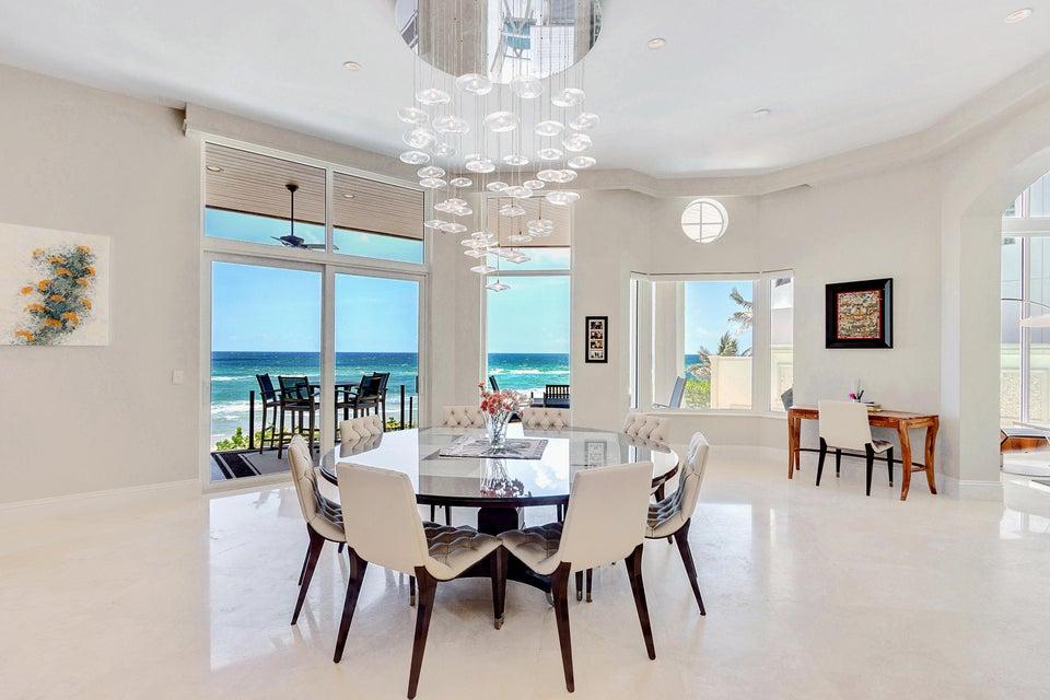 Ocean Views from Kitchen