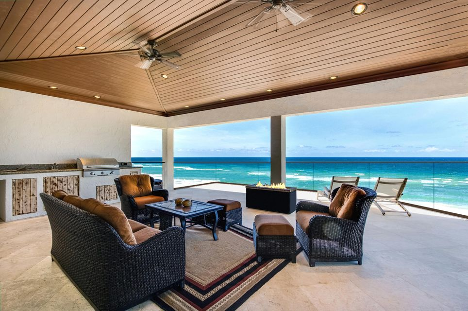 Rooftop Ocean Lanai with Gas Firepit