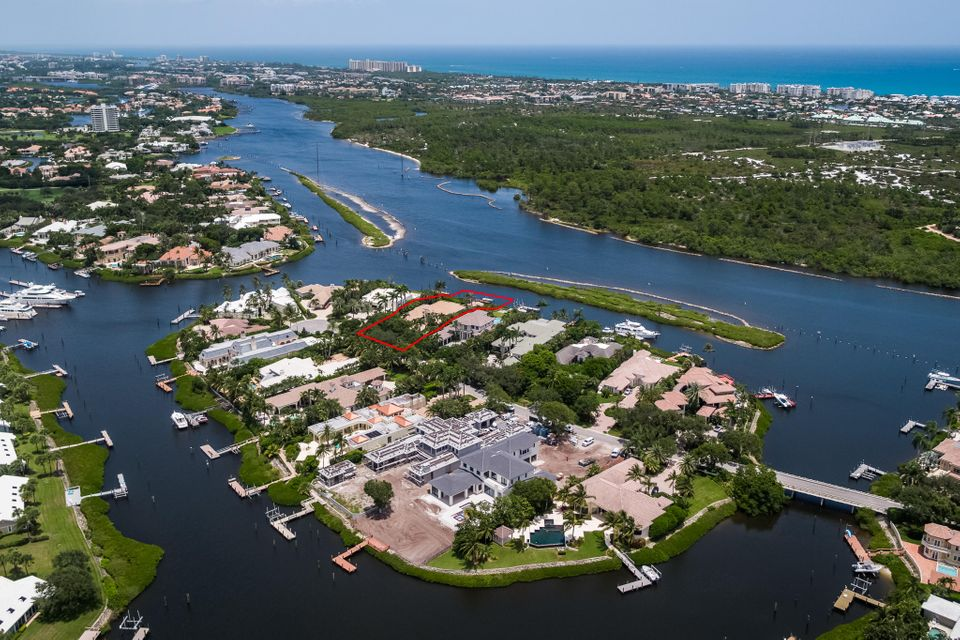 Aerial View from Lot to Ocean