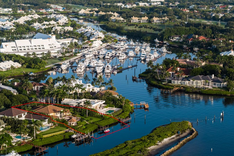 Aerial of Club and Marina