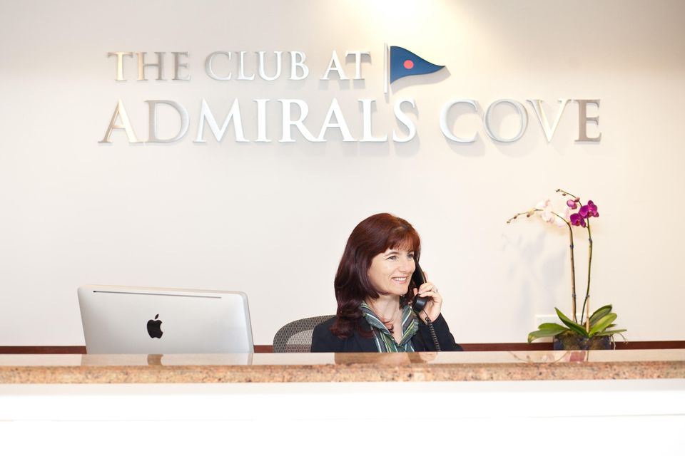 Front Desk at Club
