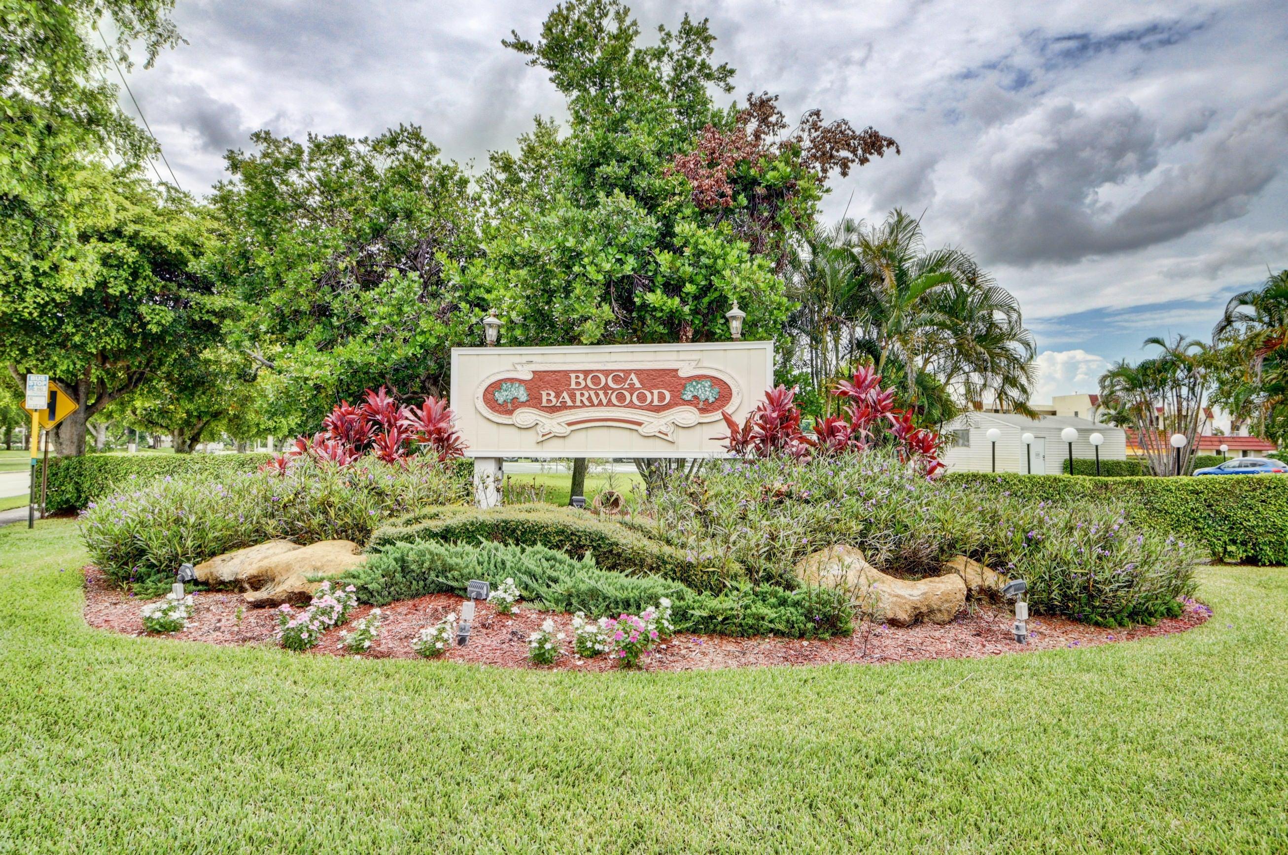23277 Barwood Lane #408 Boca Raton, FL 33428
