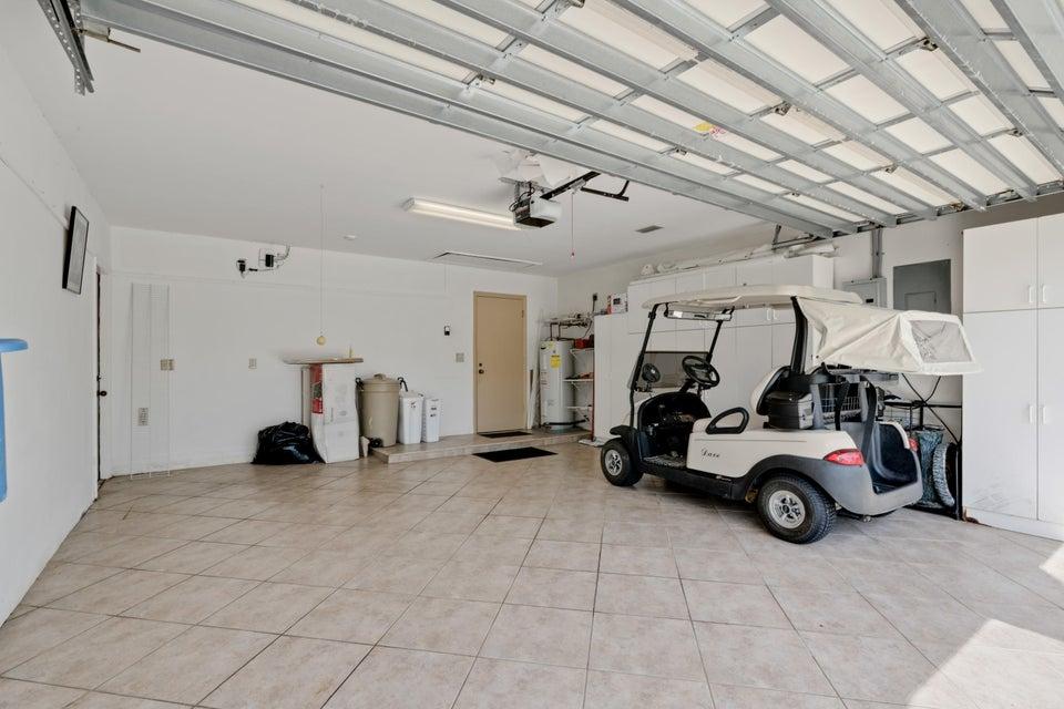 2 Car Tiled Garage