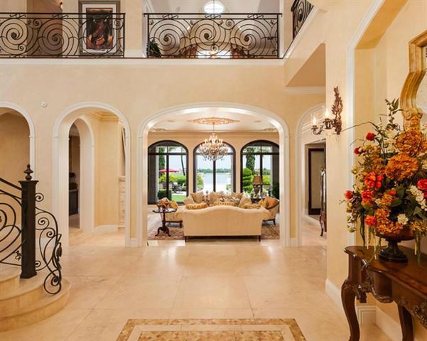 Foyer & Living Room*