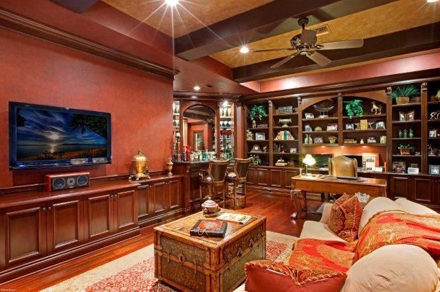 Study, Wet Bar and office