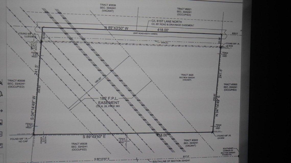 Xxxx 61st Lane, West Palm Beach, Florida 33412, ,Land,For Sale,61st,RX-10455138