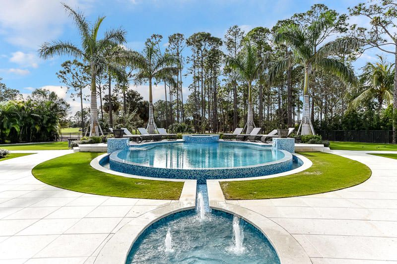 Fountain and Pool