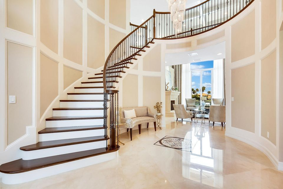 Gracious Winding Staircase