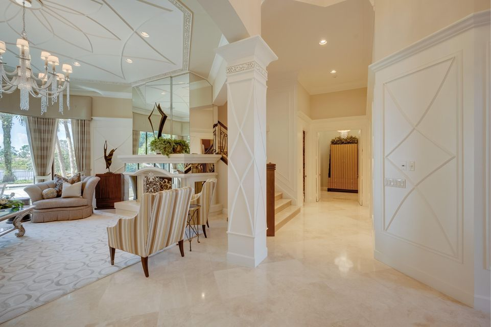 Entrance area to master suite