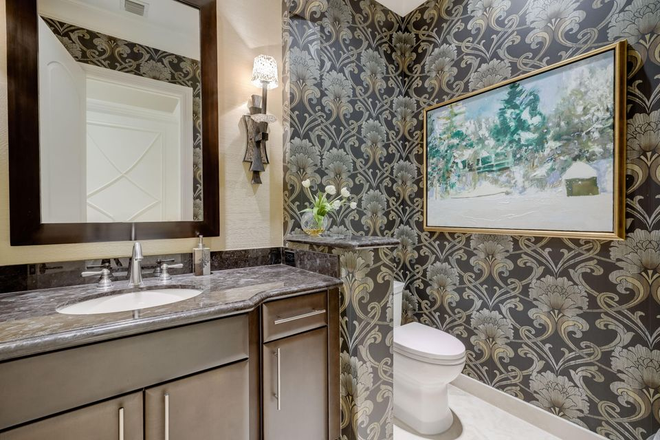 Powder room for office and guests