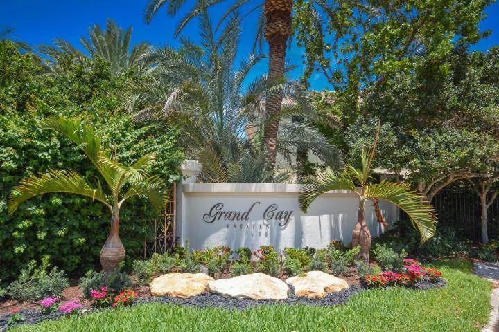 Entrance to Grand Cay Estates