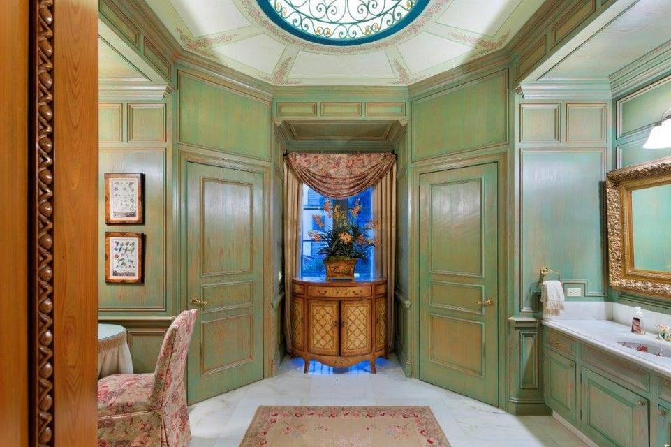 1 of 2 formal powder rooms
