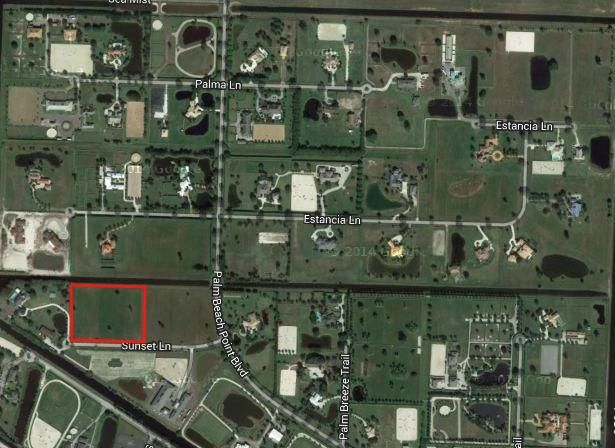 15635 Sunset Lane- Wellington- Florida 33414, ,Land,For Sale,palm beach point,Sunset,RX-10478535
