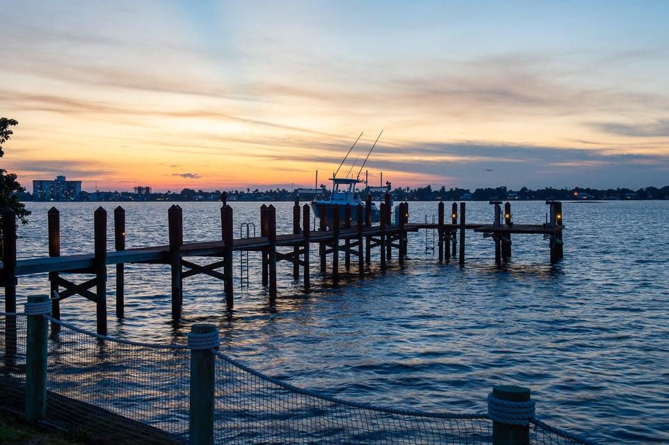 Twilight Intracoastal Dock